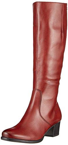Caprice 25519, Bottes Pour Femme Rouge (bordeaux Nappa)