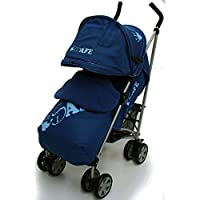 iSafe buggy Stroller Pushchair - Navy (iSafe NAVY 2017-2018)