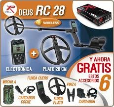 XP DEUS 28 RC WS4 Komplett-Set