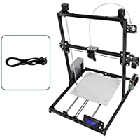 Formulaone Flsun C-Plus 3D Printer Kit Área de impresión Grande Auto Level Double-Sided Printing Marco de Aluminio DIY Printing Machine
