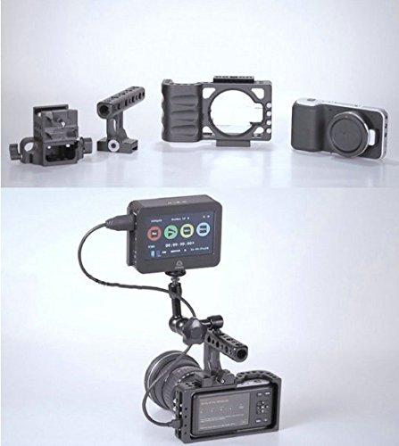 Preisvergleich Produktbild Gowe Rig Cage Schulterstativ für Blackmagic Pocket Cinema Kameras 15mm Schiene Stangensystem