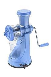 Vishal Fruit & Vegetable Manual Juicer Mixer Grinder With Steel Handle (Blue)