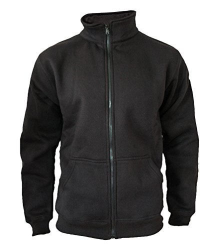 ROCK-IT Apparel® Sweaterjacke Pullover Herren Original Rock-IT Farbe schwarz 4X-Large Zip Pullover Jacke