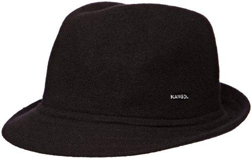 Imagen de kangol wool arnold sombrero, negro, l para hombre