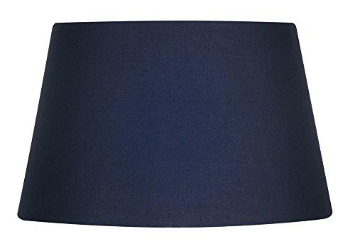 Oaks Lighting Drum Lampenschirm, aus Baumwolle, 25,4cm Klassisch navy