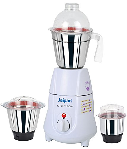 Jaipan JKG-1101 500-Watt Kitchen Gold Mixer Grinder (White)  available at amazon for Rs.2399