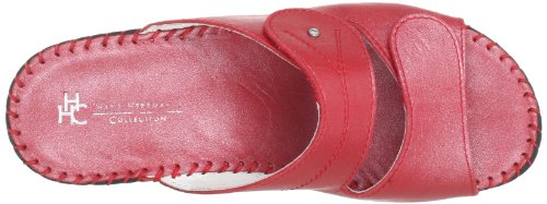 Hans Herrmann Collection 0240047-70, Mules femme Rouge (Rot)