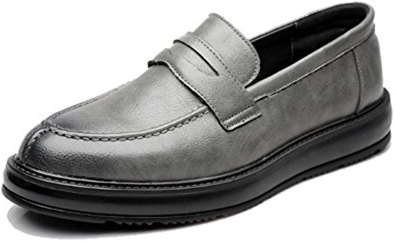 Xiazhi-scarpe, Scarpe da Lavoro Formali da Uomo Classic Slip-on Mocassini in Pelle PU Casual Outsole Oxford (Coloree... | Ideale economico  | Uomo/Donne Scarpa