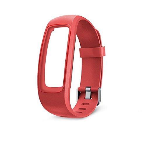OMNiXTM ID107 Plus HR Strap (red)