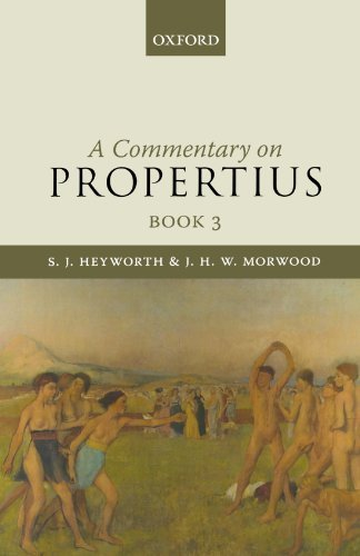A Commentary On Propertius, Book 3 by S. Heyworth (2009-11-02)