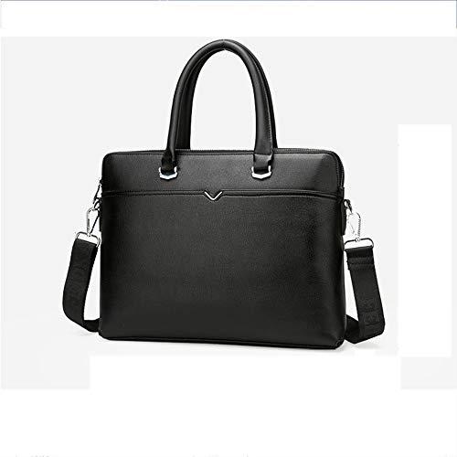 Olydmsky Herren Handtaschen Querschnitt Business Aktentasche einzelne Diagonale Leder Tasche Laptop Umhängetasche