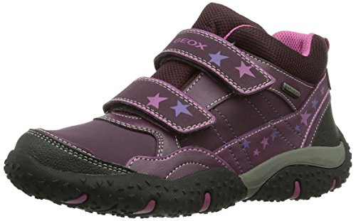 Geox J BALTIC B GIRL ABX, Mädchen Sneakers - Violett (PURPLEC8000), 32 EU (13 Kinder UK)