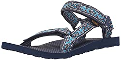 Teva Men s Original Universal Sandal Old Lizard Insignia Blue 8 D(M) US