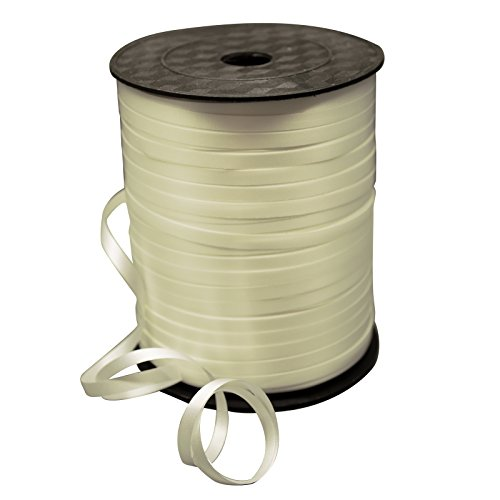 50m-balloon-colour-curling-ribbon-helium-wedding-birthday-gift-craft-favour-party-ivory