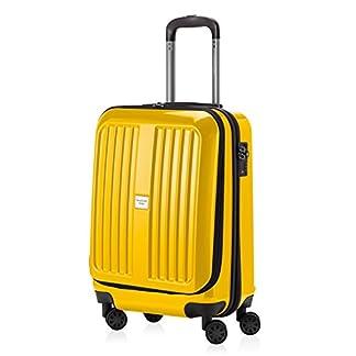 CAPITAL DE CASO – X-Berg – Equipaje de mano dura de la carretilla caso equipaje, 55 cm, 42 litros, TSA, amarillas