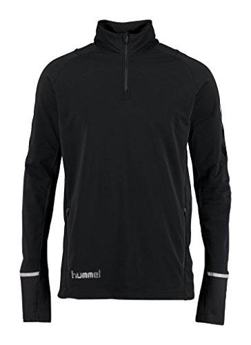 Hummel Herren Kinetic Premium Half Zip Pullover, Black, M