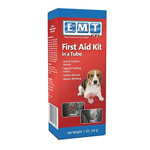 Trophy EMT Gel Colagen Wound Dressing for Pets, 1-Ounce by Trophy - Emt-gel