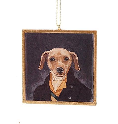 Party Explosions Dog Portrait Ornament Corporal Scootie -