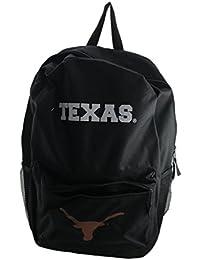 Preisvergleich für Offiziell lizenzierte NCAA Universität Texas Longhorns Schwarz Leinwand Rucksack