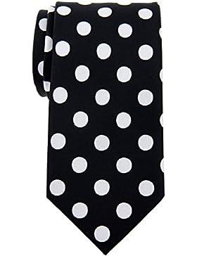Retreez Classy Vintage Tejido de lunares microfibra 3.15Hombre Corbata Corbata