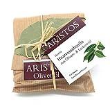 ARISTOS Olivenöl Haarwaschseife | Haarseife | Lorbeeröl (26,5%) Sesamöl (20%) | Duschseife |...