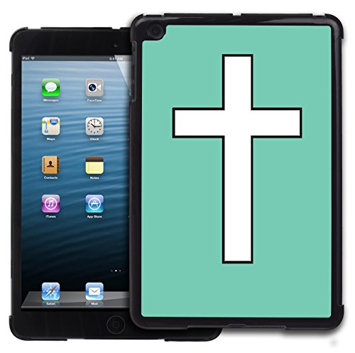 Graphic4You Kreuzr Design Harte Hülle Case Tasche Schutzhülle für Apple iPad Mini 1 / 2 / 3 (Tiffany Blau) (Mini 3 Ipad Tiffany Case)