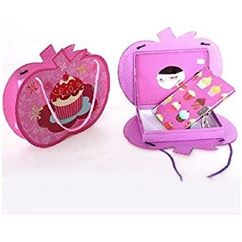 Diario musical Cupcakes - Rosa