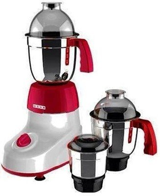 Usha Mircro Smart Mixi- 3475 600Watts 3Jars