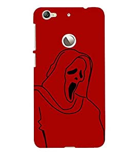 HiFi Designer Phone Back Case Cover LeTV 1S :: LeEco Le 1s :: LeEco Le 1s Eco ( Scary funny Ghost )