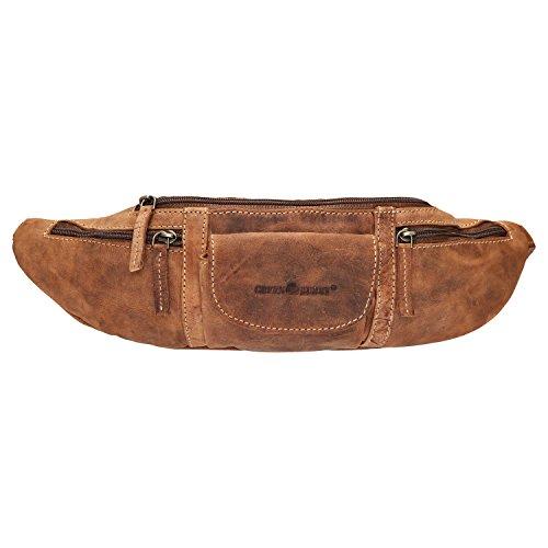 Greenburry Vintage riñonera piel 37 cm marrón