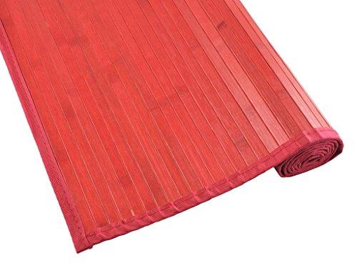 Tiendas Mi Casa Bambusteppich Kenia - 70_x_250_cm rot