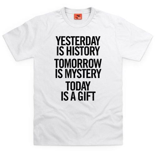 Yesterday T-Shirt, Herren Wei