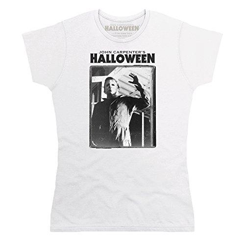 Official Halloween T-Shirt Michael Myers, Damen, Wei, S