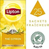 Lipton Tee Exclusive Selection Refreshing Lemon 6 x 25 Tea Bags á 1,7 g