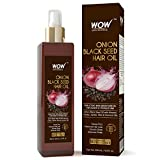 WOW Onion Black Seed Hair Oil - Promotes Hair Growth - Controls Hair