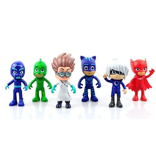 New Best 6 style PJ Masks Cool Action Figure BOY Dolls & Toys For kids - Neue Bestes 6 Stil PJ Masks Cool Action Figur JUNGE Puppen & Spielzeug Für (Spiel Kostüm Video Auto)