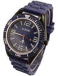 Alpine ALB - Reloj unisex color azul