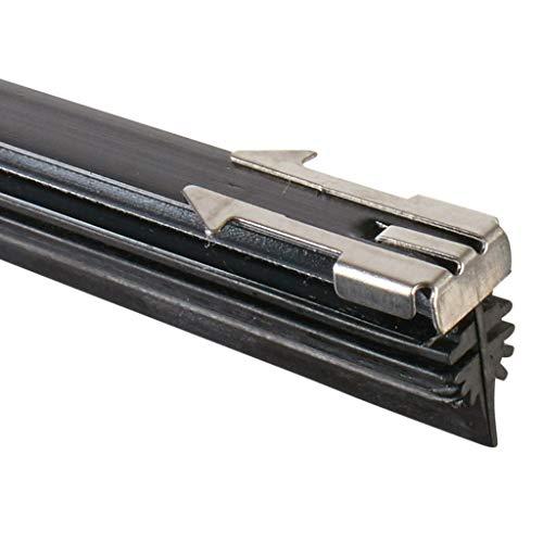 Scheibenwischerblätter mit Mehrfach-Wischkante   Bügelscheibenwischer vorne & hinten individuell kürzbar   AdlerVision Scheibenwischer 70 cm 2er Set