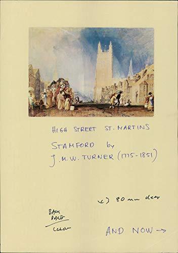 Fotomax Vintage Photo of Turner's High Street st. Martins Stamford.