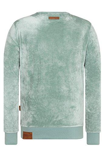 Naketano Male Sweatshirt Asgardian Mack III Milky Green