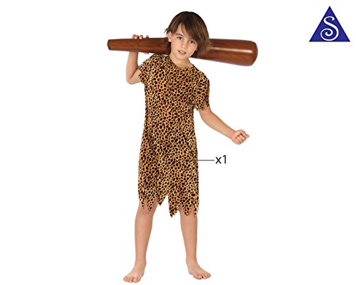 Imagen de atosa  disfraz de cavernícola para niño, talla m, 5 6 años 111 28286  alternativa