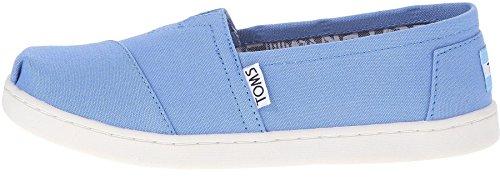 Classic Espadrilles (TOMS Classic Blue Youth Canvas Espadrilles Shoes Slipons-2)