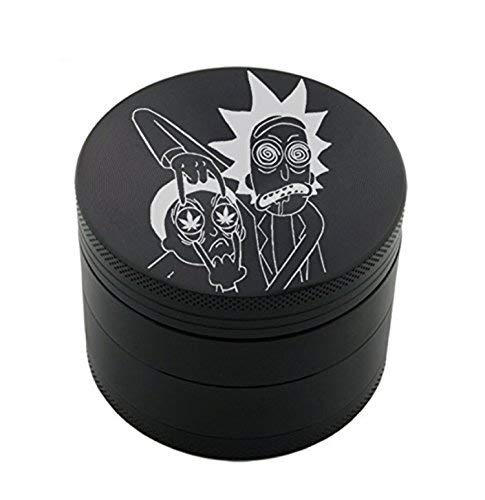 Royale grinder Pro Design Grinder 5cm 4 Parties by édition limitée ... (Rick and Morty 2)