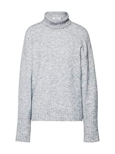 Lou Lou Damen Pullover (EDITED Damen Pullover Lou Graumeliert 38 (M))