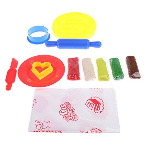 Toygogo Ensemble D'outils à Modeler d'argile Pâte Molle à Modeler DIY Cake Kid Jouer à Un Jeu Play Food Preschool