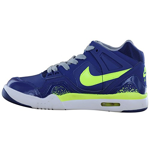 Nike Air Tech Challenge 2 Blue White Youths Trainers Blue White