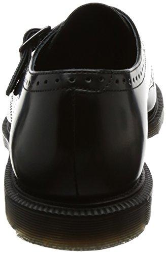 Dr. Martens Cobden Black Polished Smooth, Scarpe Stringate Brouge Uomo Nero (Black)