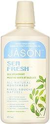 Jason Sea Fresh Active Mouthwash, Sea Spearmint 16 oz (Pack of 3)