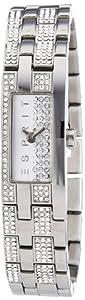 Esprit ES100782001 - Reloj analógico de mujer de cuarzo con correa de acero inoxidable dorada de Esprit