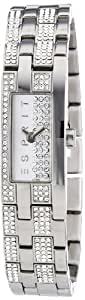 Esprit Damenarmbanduhr Dazzling Pico Silver ES100782001